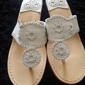 Jack Rogers Thong Sandals Sz 8
